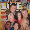 S Club 7 - Live & Kicking Magazine Cover [United Kingdom] (July 1999)