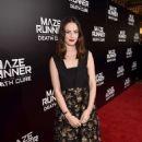 Kaya Scodelario – 'Maze Runner: The Death Cure' Fan Screening in LA - 454 x 683