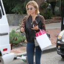 Lucy Hale – Leaving Kate Somerville Skincare in West Hollywood 02/20/2019