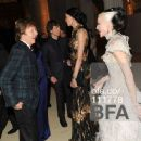 L'Wren Scott and Mick Jagger at 2011 MET Costume Institute Gala - 454 x 363