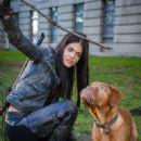 Marie Avgeropoulos as Sandra Lowe in Dead Rising: Endgam - 454 x 605