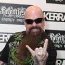 Kerry King of Slayer attends The Kerrang! Awards at the Troxy on June 13, 2013 in London, England - 454 x 340