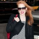 Jessica Chastain at  the Walter Kerr Theater