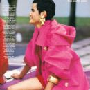 Nadege du Bospertus for Vogue US March 1991
