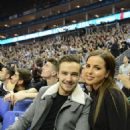 LIAM PAYNE & SOPHIA SMITH AT NBA GAME (January 16) - 454 x 671