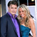 Kate Luyben and Nathan Fillion - 437 x 600