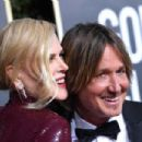 Keith Urban and Nicole Kidman : 76th Annual Golden Globe Awards