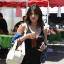 Rachel Sterling – Shopping at Farmer's Market in Studio City - 454 x 561