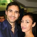 Adrian Paul and Alexandra Tonelli