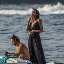 Zuleyka Rivera on holiday in Capri - 454 x 649