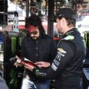 Nikki Sixx attends the Monster Energy NASCAR Cup Series race at Auto Club Speedway at Auto Club Speedway on March 17, 2019 in Fontana, California