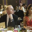 Sidney (Simon Pegg) and Sophie (Megan Fox) at the Apollo Awards. Photo Credit: Kerry Brown