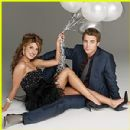 Shenae Grimes and Dustin Milligan