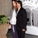 Anthony Kiedis and Heather Christie
