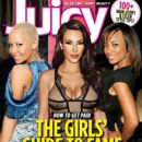 Amber Rose, Kim Kardashian, Karrine Steffans - Juicy Magazine Cover [United States] (October 2010)