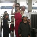 Angelina, Pax, and Maddox Give A Sweet Smile and Wave as They Depart Vietnam