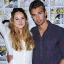 Shailene Woodley and Theo James - 454 x 375
