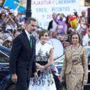 King Felipe and Queen Letizia :  'Princesa De Asturias' Awards 2017 - Day 2 - 399 x 600