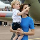 The Duke & Duchess of Cambridge Visit the Royal International Air Tattoo - 438 x 600