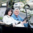 Jay Leno and Mavis Nicholson