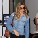Gisele Bundchen at the Boston Airport