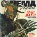 Mad Max 2: The Road Warrior - Cinema Papers Magazine Cover [Australia] (November 1981)