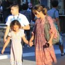 Halle Berry takes her daughter Nahla Aubry to the Grove in Los Angeles, California on June 17, 2016 - 454 x 363