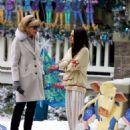 Mila Kunis – Filming 'A Bad Moms Christmas' set in Atlanta - 454 x 620