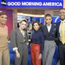 Kristen Stewart, Naomi Scott and Ella Balinska – Good Morning America in NYC