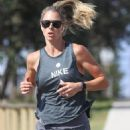Candice Warner – Morning run in Sydney's Eastern Suburbs
