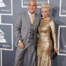 Tito Ortiz and Jenna Jameson arrives at the 55th Annual Grammy Awards at the Staples Center in Los Angeles, CA on February 10, 2013