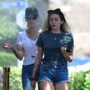 Miley Cyrus – Has lunch with her mother Tish in Los Angeles