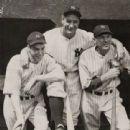 Joe DiMaggio, Lou Gehrig & Bill Dickey