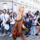 Karolina Kurkova – Attends the Vogue Party 2017 in Paris - 454 x 652