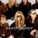 Victoria Beckham and L'Wren Scott attend the Chanel fashion show during Paris Fashion Week (Haute Couture) Spring/Summer 2006 on January 24, 2006 in Paris, France - 394 x 640