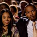 (Left to right.) Regina Hall and Jamie Foxx star in Overture Films´ LAW ABIDING CITIZEN. Photo Credit: John Baer © 2009 LAC Films, LLC. All Rights Reserved.