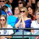Kate Upton Watching Alds Game Two In Baltimore