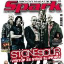 James Root, Josh Rand, Roy Mayorga, Corey Taylor - Spark Magazine Cover [Czech Republic] (November 2010)