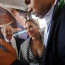 Beyoncé Knowles - Beyonce - Groundbreaking Ceremony For The Barclays Center In New York City, March 11 2010