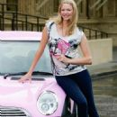"Jodie Kidd Launches ""Essential Car Care For Girls"" Book, A Tongue-in-cheek Guide To Car Care Aimed To Dispel The Myth That 'when It Comes To Car Care, Women Should Leave It To The Men', At The Royal Albert Hall In London, 04.09.2008."