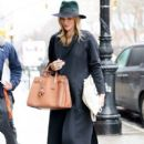 Rosie Huntington-Whiteley was seen holding her pregnant belly while shopping at ABC Carpet & Home store in New York City, New York on April 6, 2017 - 400 x 600