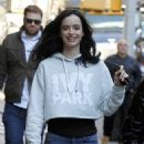 Krysten Ritter on Set of 'The Defenders' in New York 12/1/ 2016 - 454 x 672