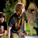Regan Young as Lee, Austin Robert Butler as Jake and Henri Young as Art in Aliens in the Attic. - 454 x 261