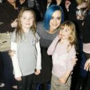 Katy Perry is greeted by her loving fans as she arrives at Nobu in London