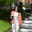 Camila Mendes – Out and about in Vancouver - 454 x 644
