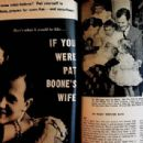 Pat Boone - Movie Life Magazine Pictorial [United States] (July 1958)