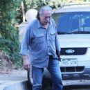 Edward James Olmos shops for properties in the Hollywood Hills, California with family on January 29, 2014 - 434 x 594