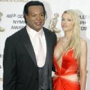 Christopher Judge and Gianna Patton at the Golden Nymph Awards in Monte Carlo - 340 x 461