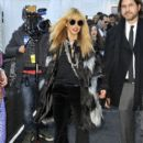 Rachel Zoe: arriving at Mercedes-Benz Fashion show at Lincoln Center New York