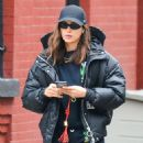 Irina Shayk is spotted in New York